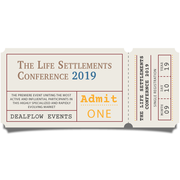 Single Registration Ticket for Life Settlements 2019